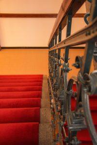 Treppenaufgang im Detail